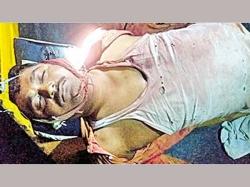 Trs Leader Killed Naxals