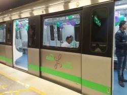 President Mukherjee Flags Off Bengaluru Metro Green Line S Last Stretch