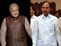 Kcr Complaints Narenda Modi On Amit Shah Regarding Central F