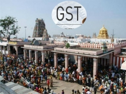 Gst Tax Will Apply Temples Also