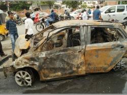 Btech Student Killed Banjara Hills Road Mishap