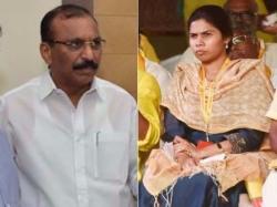 Tdp Leaders Says Shilpa Mohan Reddy From Kadapa