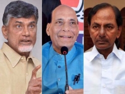 Ap Cm Meets Rajnath Singh On Assembly Seats Hike Both Cms Fired On Center