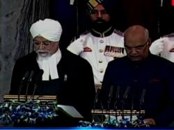 Ram Nath Kovind Takes Oath As 14th President India