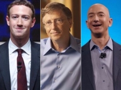 Look Out Bezos Mark Zuckerberg Is Now The World S Fifth Richest
