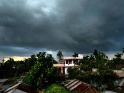 Low Pressure Intensify Into Depression Over Ap Odisha Imd