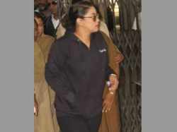 Hyderabad Drug Case Actress Mumaith Khan Appears Before Special