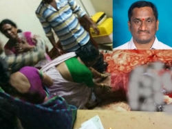 The Reason The Murder Trs Corporator Anisetti Murali At Warnagal