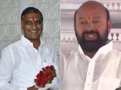 Harish Rao Takes Class Muthireddy Yadagiri Reddy