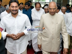 Questions On Ys Jagan Touch Ramnath Kovind S Legs