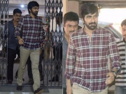 Tollywood Cine Actor Raviteja Attends Before Sit