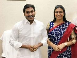 Woman Finance Corporation Chairman Anuradha Takes On Jagan Roja
