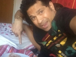See Pic Sachin Tendulkar Enjoys Breakfast Bed Cooked Someone Special