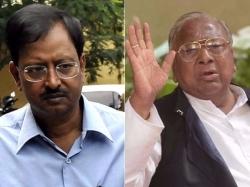 V Hanumantha Rao Fires At Garagaparru Issue