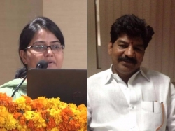 Trs Mla Shankar Naik Abusive Behaviour With Collector
