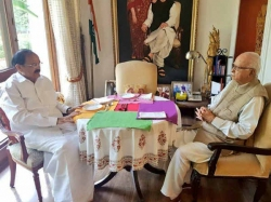 Venkaiah Naidu Press Meet After Filing Nomination