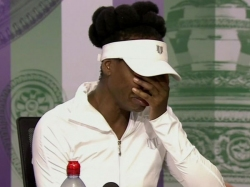 Wimbledon Venus Williams Breaks Down During Press Conference Talks About Fatal Car Crash