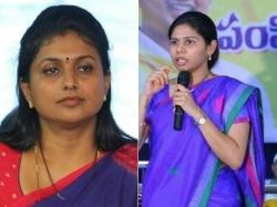 Women Protest Infront Roja Nandyal