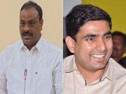Ap Minister Achenaidu Funny Comments On Nars Lokesh