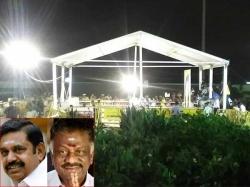 Chennai Police Personnel Marina Beach