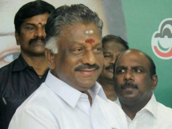 Panneerselvam As The Deputy Chief Minister Tamil Nadu