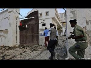 హోటల్ మీద ఉగ్రవాదుల దాడి: 17 మంది దుర్మరణం