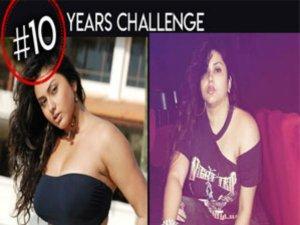 10 years Challenge Mania..సినీ తారల హంగామా.. చూస్తే థ్రిల్ కావాల్సిందే (ఫోటోలు)