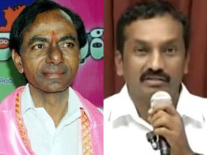 KCR and Raghunandana Rao