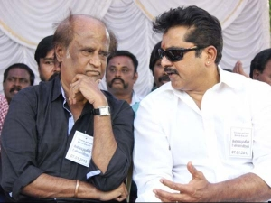 Sarath Kumar Takes On Rajinikanth As Kollywood S Star Wars