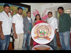 Mp Kavitha Launched Logo United Kingdom