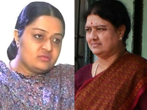 Fight Between Sasikala Deepa Jayakumar