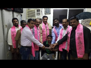 Trs Nri Cell Bahrain Helped A Accident Victim