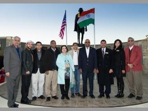 India S 68th Republic Day Celebrations At Mahatma Gandhi Mem