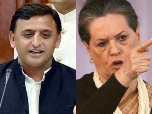 Up Elections Sonia Steps To Revive Sp Congress Alliance Ta