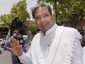 Crow Poops On Chief Minister Siddaramaiah S Spotless White D