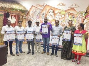 Telangana Nri Forum Releases Telugu Calender