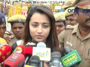 Actor Trisha Krishnan Targeted Jallikattu Supporters Support