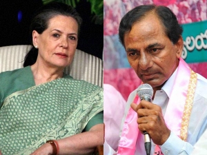 Sonia Gandhi Invited Me Attend Lunch Party Says Kcr