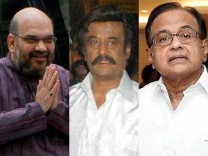 It Raids On Chidambaram Family Linked Rajinikanth
