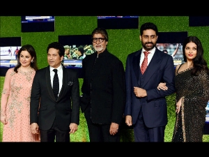 Sachin Billion Dreams Premier Big B Shah Rukh Khan Aamir Khan In Sachin