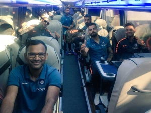 Champions Trophy 2017 Virat Kohli Co Arrive In London