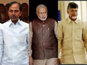 Narendra Modi Talks With Kcr About Rains