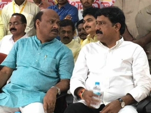 Ayyanna Again Targets Ganta Srinivasarao Over Vizag Land Scam Issue