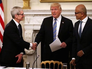 Donald Trump Breaks Up With Two White House Advisory Councils After They Already