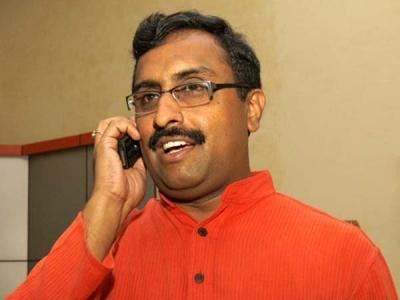 బీజేపీ భాగస్వామిగా కాశ్మీర్లో ప్రభుత్వం: రామ్ మాధవ్